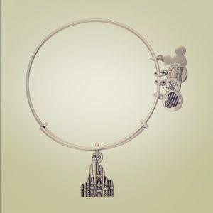 NWT Alex and Ani Cinderella Castle Bracelet Silver